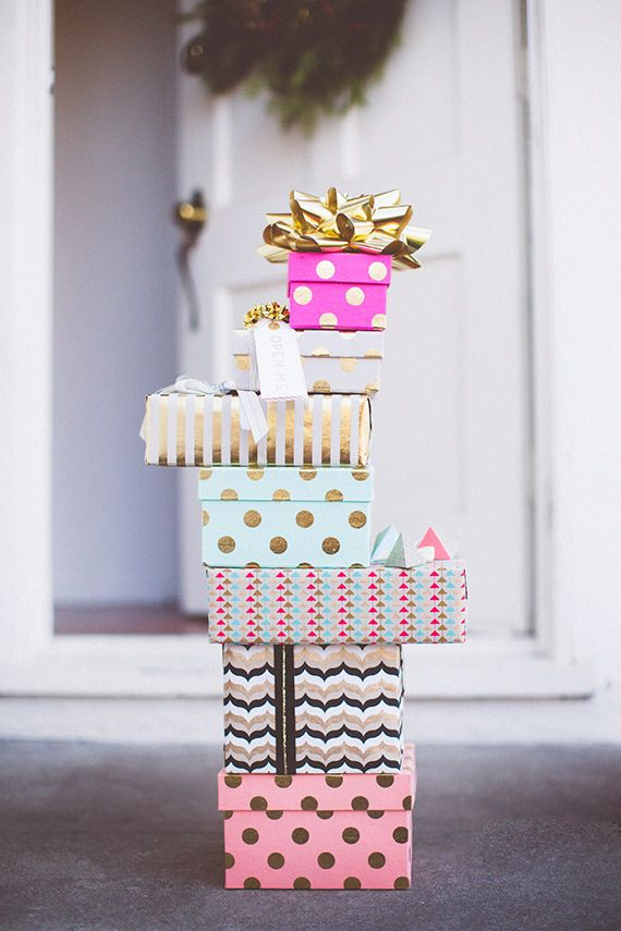 pretty patterned packages