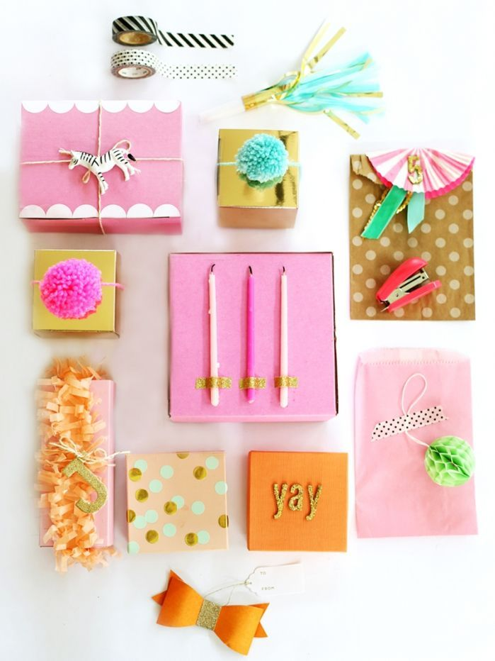 pretty presents!