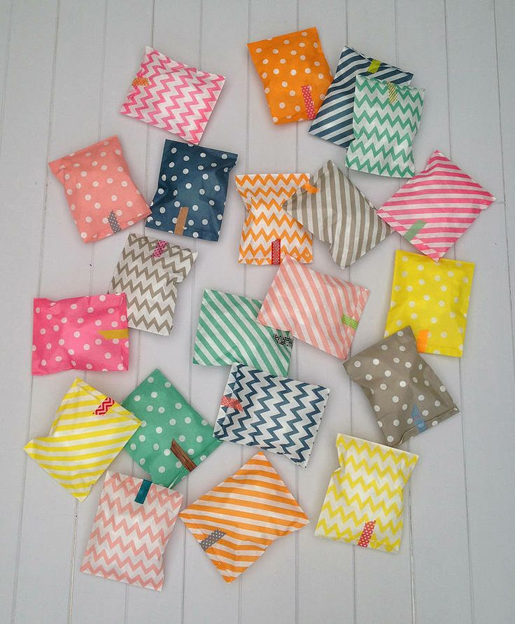 spotty and stipey paper party bags