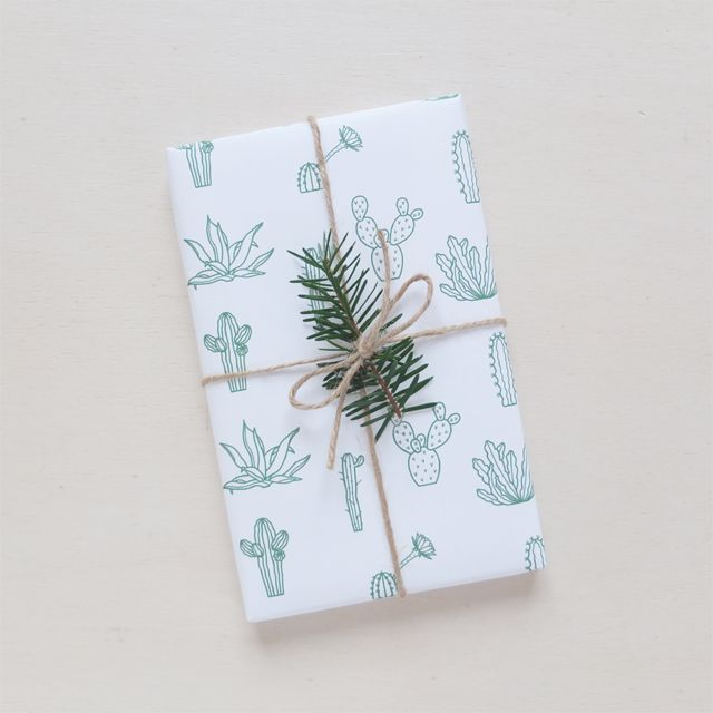 wrapping paper Botanic / Audrey Jeanne