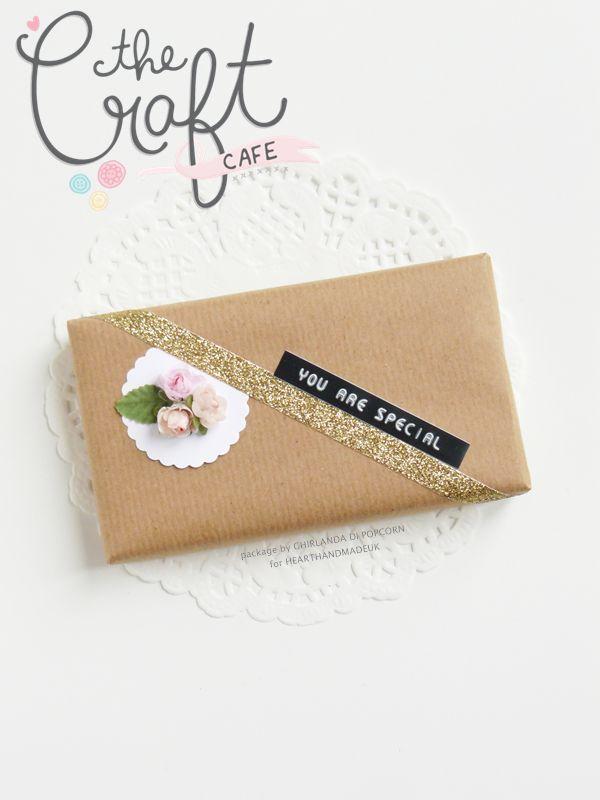 Ghirlanda di Popcorn | progetti creativi: Spring flowers gift wrap | The Craft C...