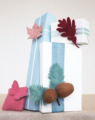 Gift-Topper Leaf
