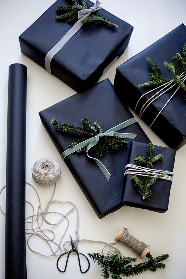 Gift Wrapping w/Pine | Shannon Kirsten