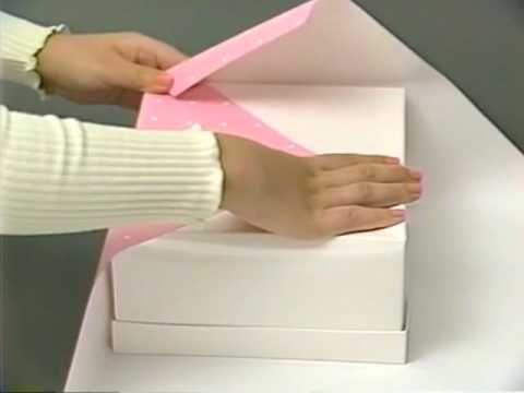 Neat! Japanese Style Gift Wrap-Directions in Japanese, but you'll get the id...