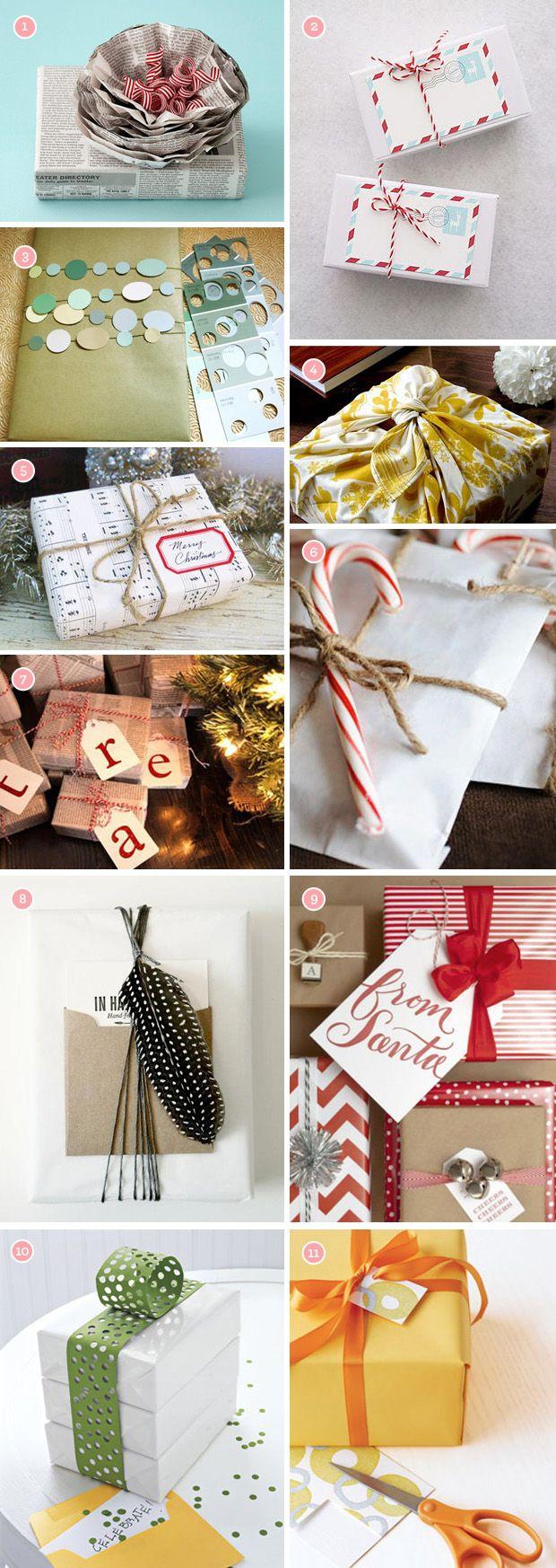 fun ways to wrap a gift