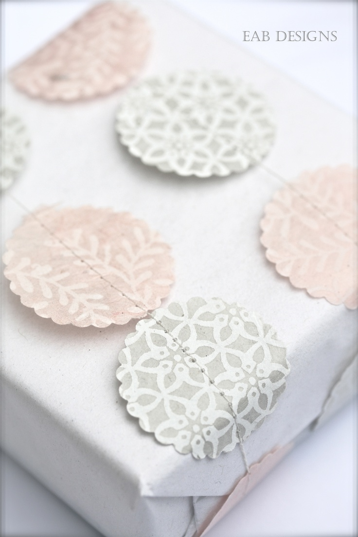 sew on wrapping accents