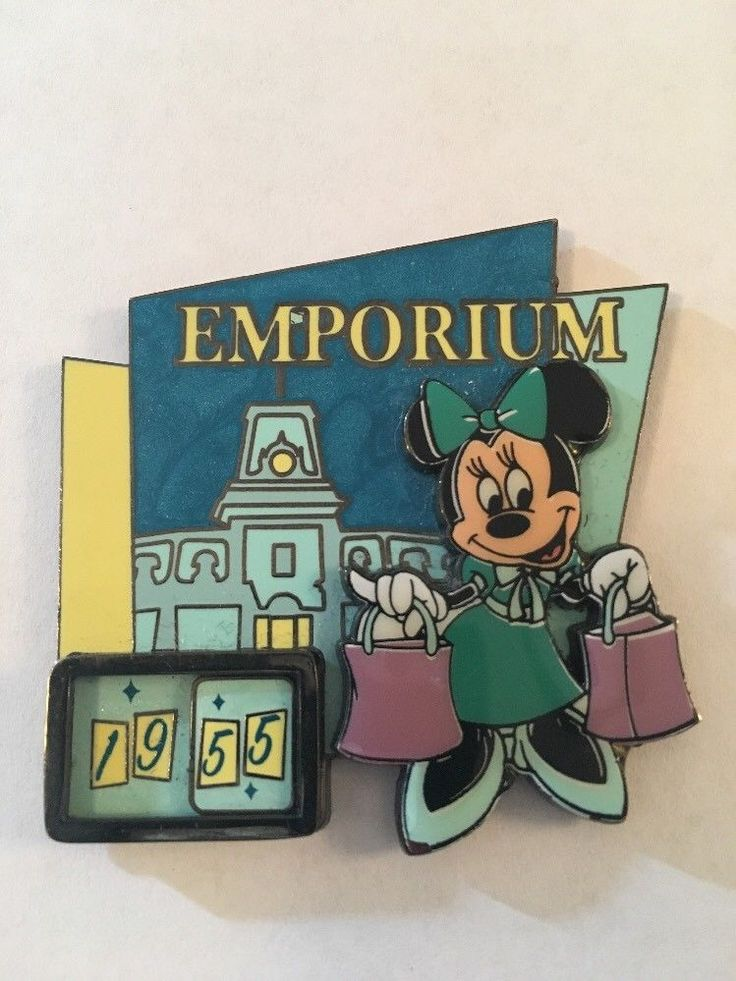 Mom Birthday Gifts Disney Pin Rare 1955 55 YEARS Minnie Mouse Emporium Limited Edition 755