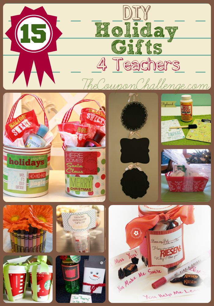 teacher gifts 15 homemade teachers christmas gifts