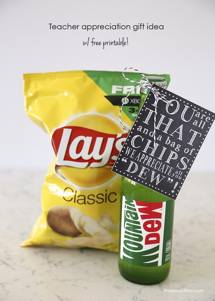 You are all that and a bag of chips gift idea from I Heart Nap Time on Skip to m...