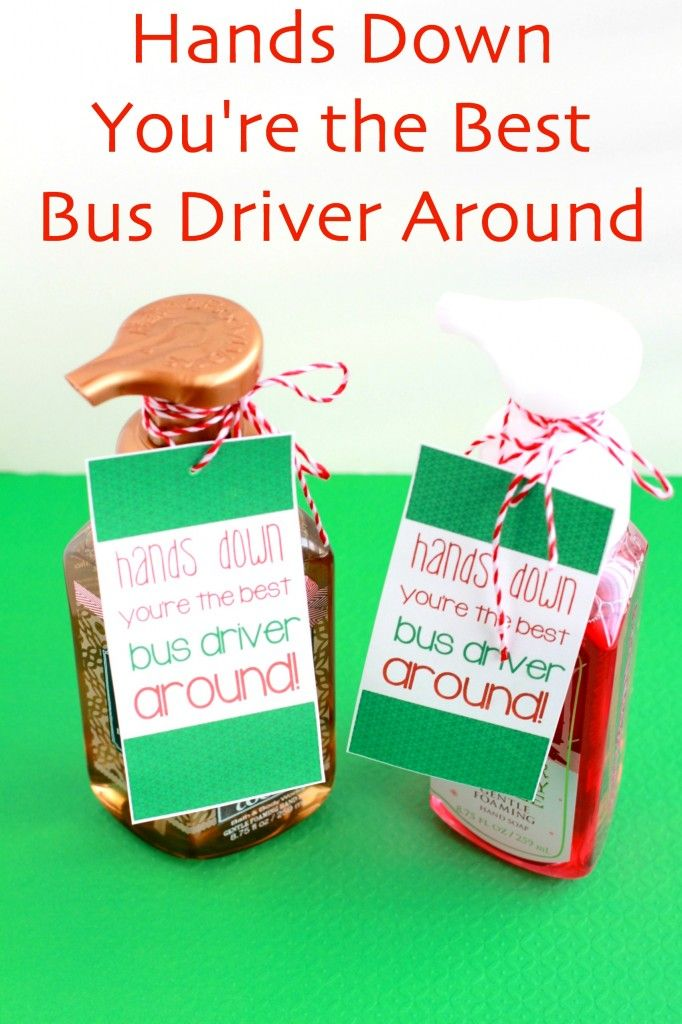 Teacher Gifts : Best Bus Driver Gift for Christmas using Bath & Body ...
