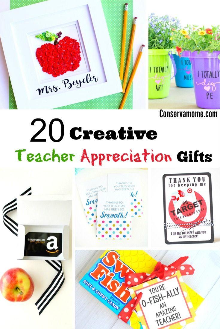 Creative Teacher Appreciation Gifts - Teacher Gift Idea - teacher appreciation g...