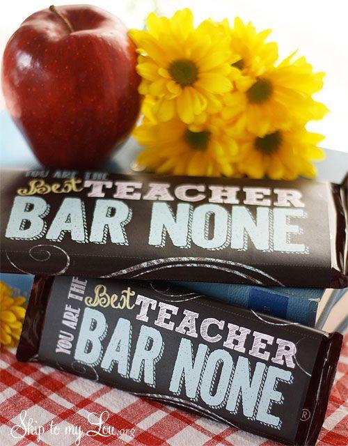 The best last minute teacher gift ideas! #gift #teacher skiptomylou.org