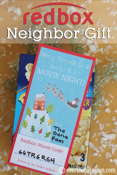 teacher gifts redbox neighbor giftbloggers best 12 days of christmas