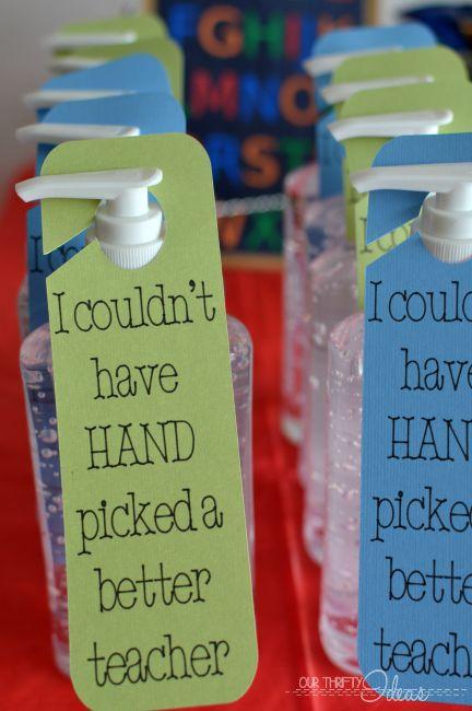Teacher Gifts : Teacher Appreciation and end of school teacher gift ...