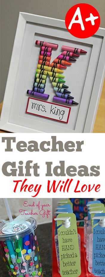 Teacher Gift Ideas they Will Love