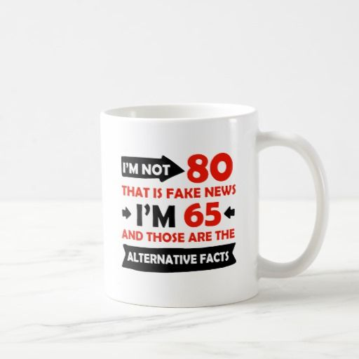 Birthday Gifts Ideas 80th Year Old Coffee Mug
