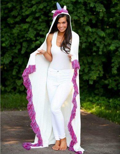 Birthday Gifts for Teenagers : Unicorn Wearable Blanket (Christmas ...