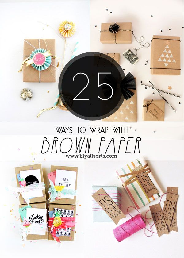 25 gorgeous ways to wrap your pressies, whether for Christmas or for other occas...