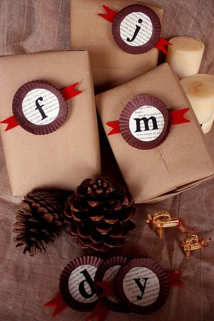 50 Creative Gift Wrapping Ideas for Christmas regalosfabulosos....
