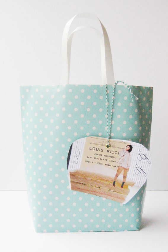 Hand made gift bag - actual tutorial