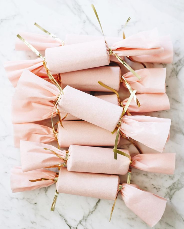 Best gift ideas for homemade christmas crackers image collection gifts wrapping package handmade pink christmas crackersg solutioingenieria Image collections
