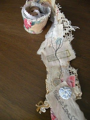 Make ribbon from scraps