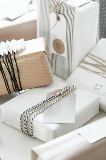 Paquets cadeaux : à suivre