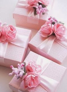 Pink wrapped