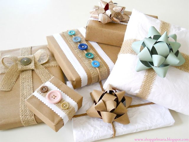 Recycled Gift Wrap Ideas!