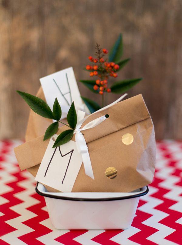 Sophisticated paper bag.