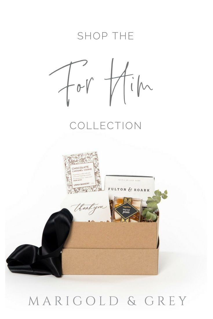 Luxury pre-designed artisan gift boxes for men and all occasions, curated by Mar...