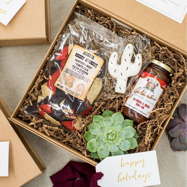 CORPORATE EVENT GIFT BOXES//  Arizona Inspired custom corporate event welcome gi...