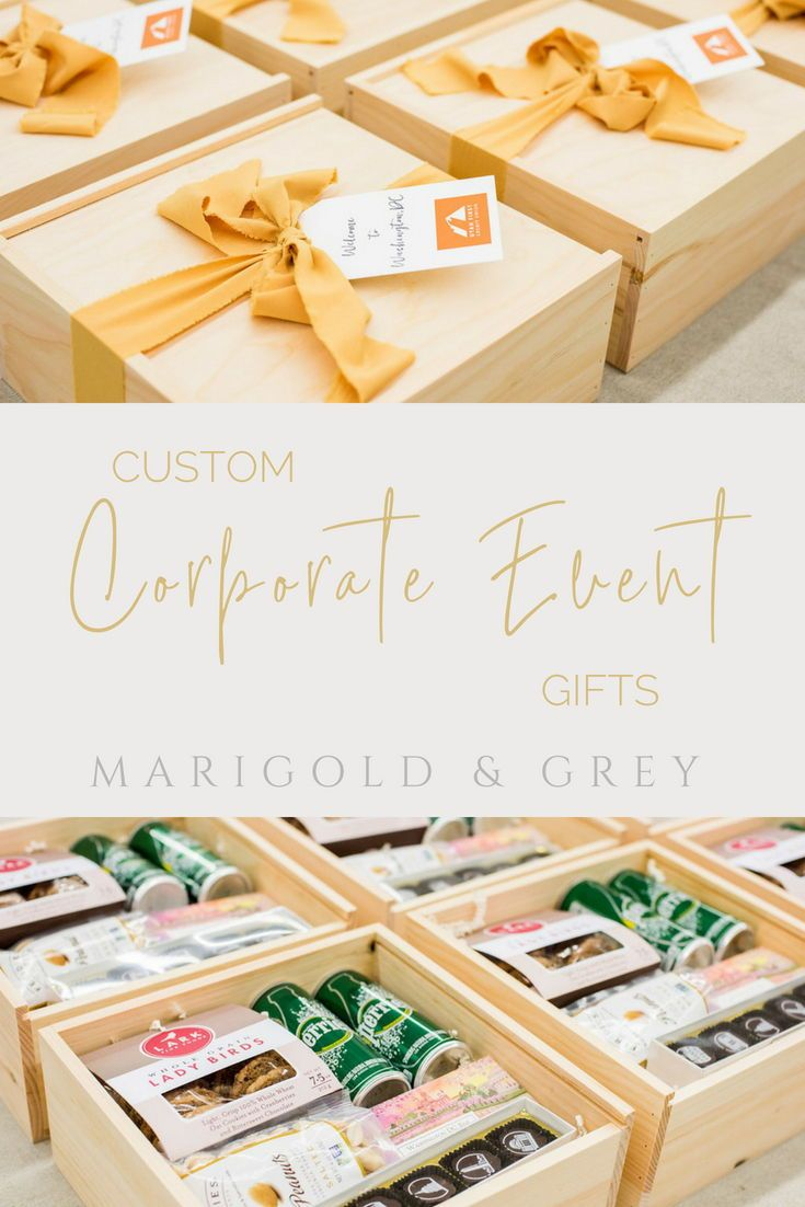 Custom DC inspired corporate event welcome gift boxes curated by Marigold & Grey...
