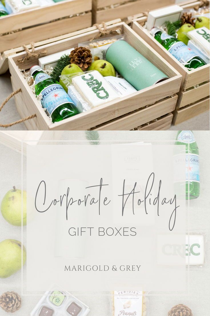 HOLIDAY GIFT BOXES// Company and client custom designed gift boxes for the holid...