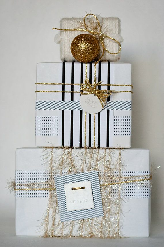 new clay gift tag : love santa