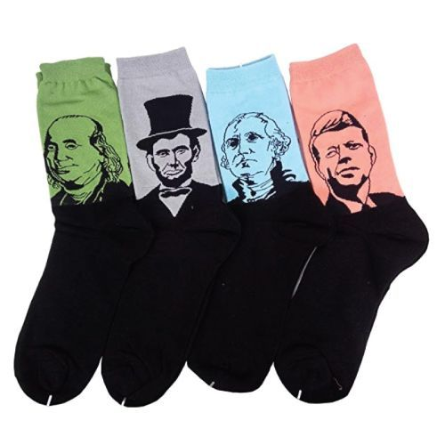 Birthday Gifts For Teenagers Cool Famous Presidents Socks For The