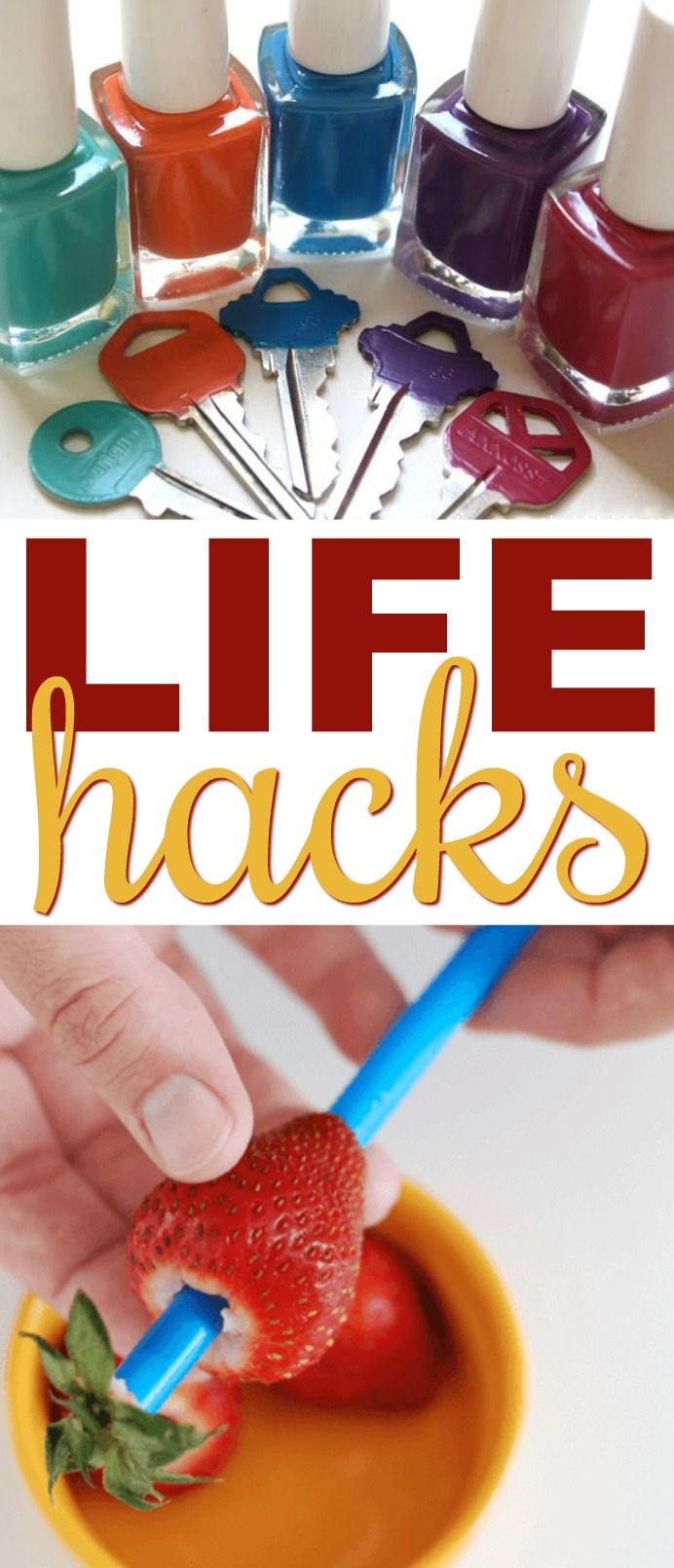 I've used life hacks that I never thought I would use. If you've ever wonder...