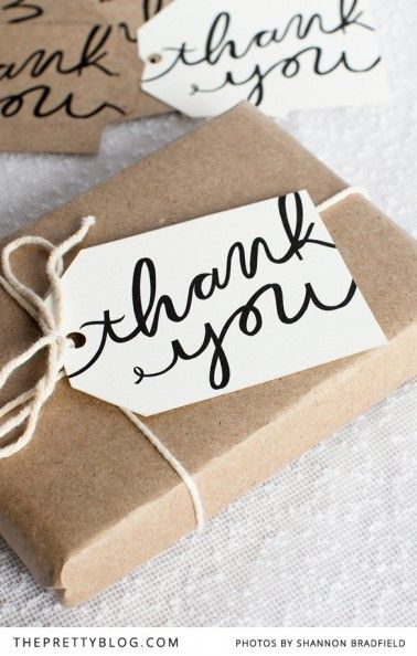 Diy Gifts Ideas Free Printable Thank You Gift Tags Perfect For A