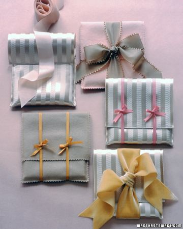20 Fun and Creative Ideas of how to wrap your gifts at the36thavenue.com ...So c...