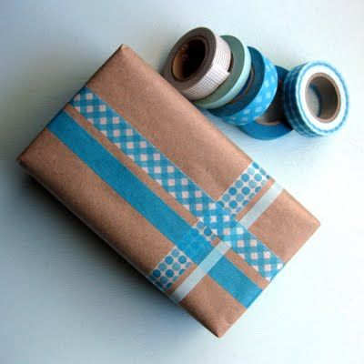Always looking for creative ways to wrap and decorate packages that need to be m...