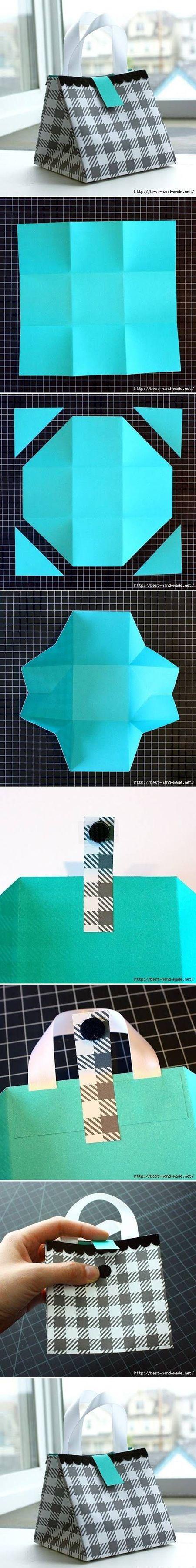 Beautiful Paper Bag   DIY & Crafts