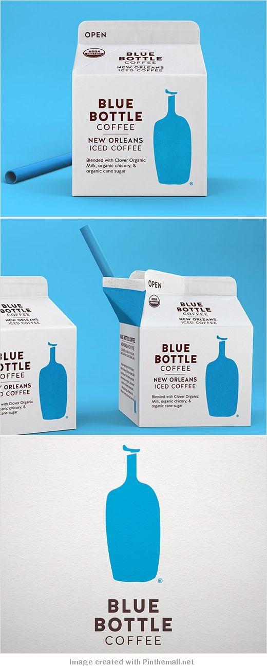 Blue bottle #coffee rebranded by #Pearlfisher #packaging PD created via www.logo...