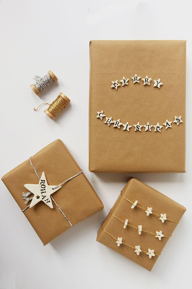 DIY: Cornstarch Clay Gift Tags ♥