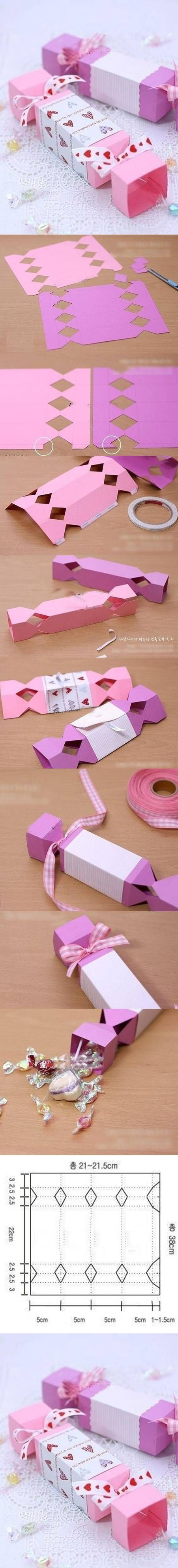 DIY Cute Candy Gift Box DIY Projects   UsefulDIY.com
