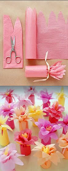DIY gift wrapping ideas.. could use this idea for nailpolish or small bottles of...