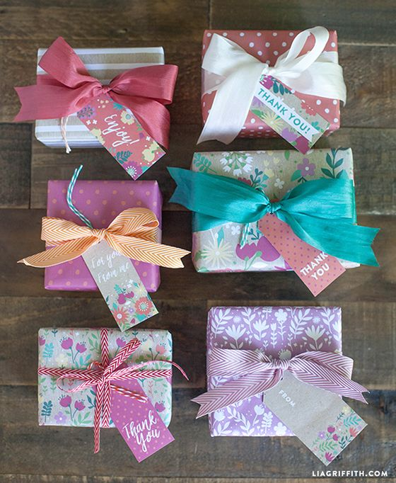 Everyday Spring Gift Wrap and Tags