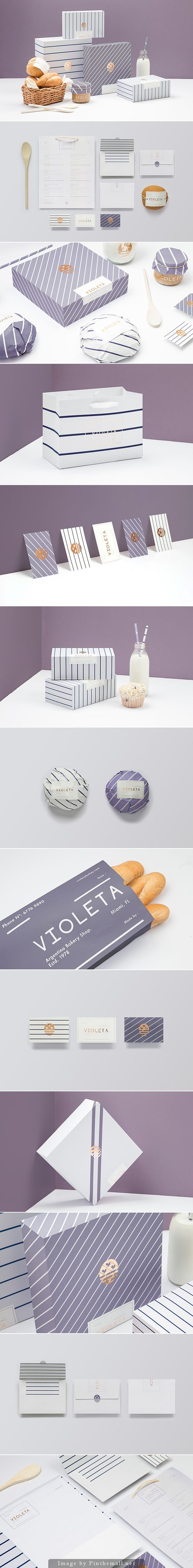 Here's all the gorgeous VIOLETA #packaging and #branding by Anagrama all on one ...