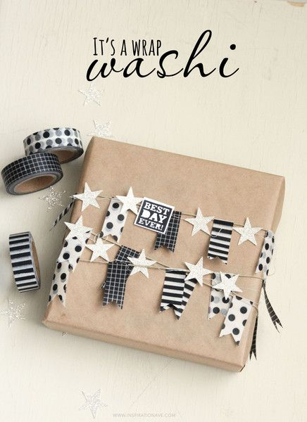 Washi Tape Gift wrapping ♥