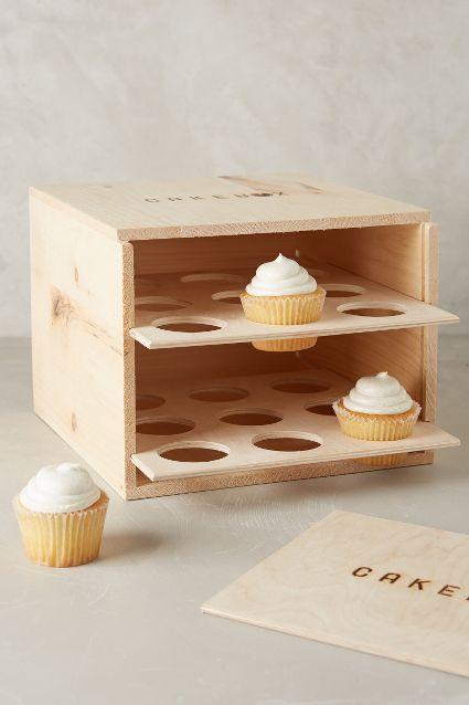 Wooden Pie Box Carrier - anthropologie.com