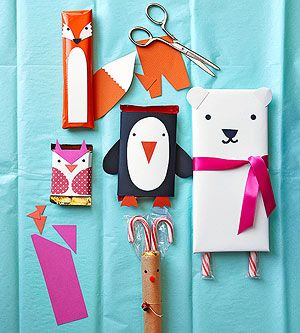Animal candy bar wrappers!